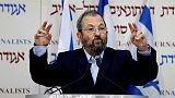 رئيس الوزراء الإسرائيلي السابق باراك يعلن ترشحه للانتخابات