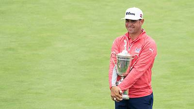 Golf-No problem for U.S. Open champion Woodland