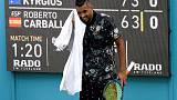 Don't care-Kyrgios the hottest ticket in town