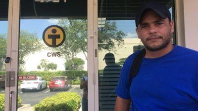Carlos Iraola Reyes, Cubain de 31 ans, à Miami (Floride) le 25 juin 2019