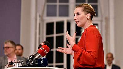 Denmark's new Social Democratic prime minister names government