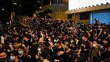 احتجاجات جديدة في هونج كونج سعيا لإثارة القضية في قمة العشرين