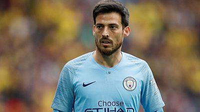Man City's Silva hailed as a 'European great' by Guardiola