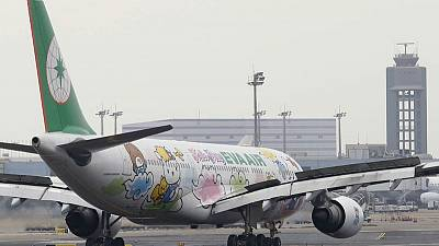 Cabin crew urge Taiwan's Eva Air to resume talks amid week-long strike