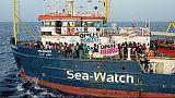 Sea Watch:ong presenta esposto a procura