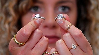 Hammers, chisels and a microscope: inside a diamond jewellery workshop