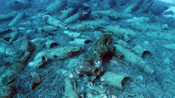 اكتشاف حطام سفينة من العصر الروماني قبالة سواحل قبرص