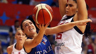 Basket: Euro donne, Turchia-Italia 54-57