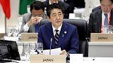 رئيس وزراء اليابان يطالب مجموعة العشرين بتوجيه رسالة قوية بشأن التجارة الحرة