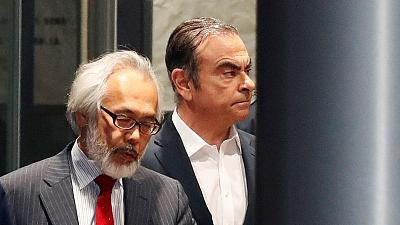Nissan ex-chief Ghosn to hold press conference in Tokyo at 1200 GMT - source