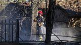 Incendio in casa, morta una donna