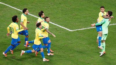 Coppa America, Brasile in semifinale