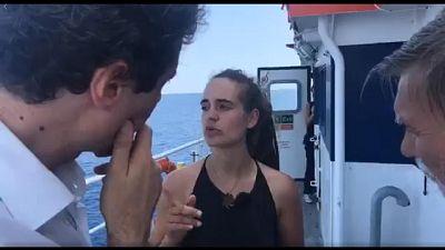 Sea Watch: indagata la capitana