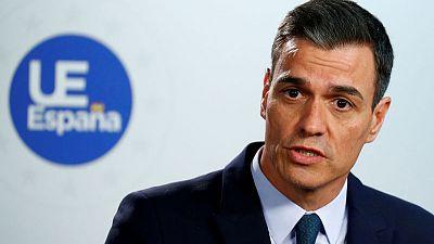 Spain's Sanchez relishes European role but reality bites