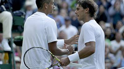 Nadal set for Kyrgios clash in Wimbledon second round