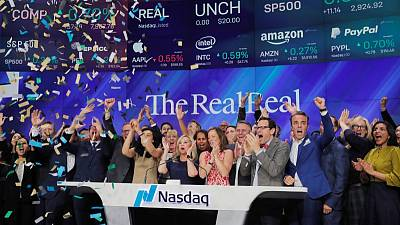 Luxury online reseller The RealReal soars 40% in debut