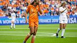 Mondiali donne: Martens infortunata