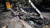 Cassonetti in fiamme,ancora roghi a Roma