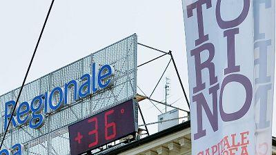 Caldo record in Piemonte proseguirà
