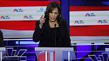 In breakout debate performance, Harris challenges Biden on race