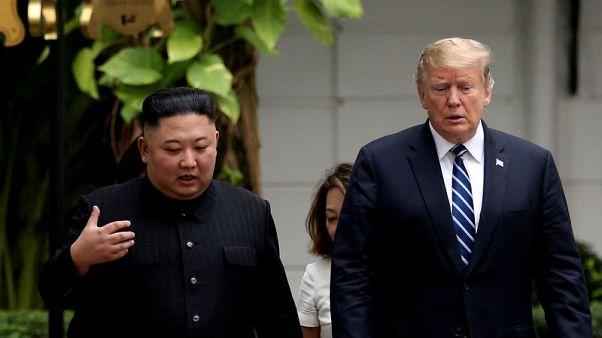 """كوريا الشمالية: اجتماع ترامب وكيم في المنطقة المنزوعة السلاح """"اقتراح مثير للاهتمام جدا"""""""