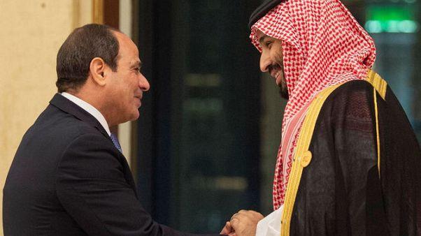 الرئاسة المصرية :الأزمة السورية تصدرت مباحثات الرئيس السيسي مع ولي العهد السعودي