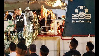 Sea Watch a Lampedusa,arrestata capitana