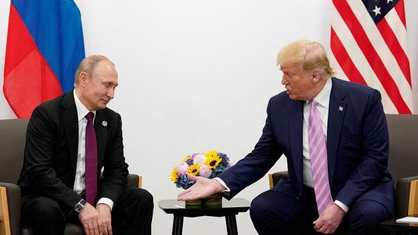 بوتين يقول إنه أبلغ ترامب بالإجراءات التي اتخذتها موسكو في سوريا