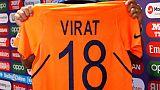 Fashionista Kohli gives thumbs-up to India's 'smart' orange jersey