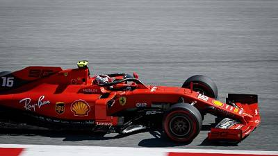 F1: Austria, 3/e libere a Leclerc,