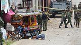 الجيش الفلبيني يرجح أن يكون الانفجار في إحدى قواعده هجوما انتحاريا