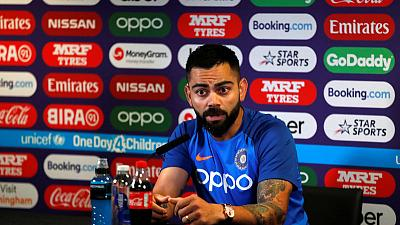 Kohli oozes calm and explains how he fakes it
