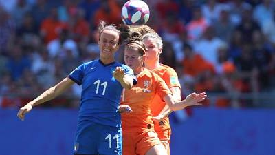 Mondiali:cooling break per Italia-Olanda