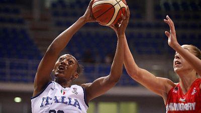 Basket: Eurodonne, Italia esame Slovenia