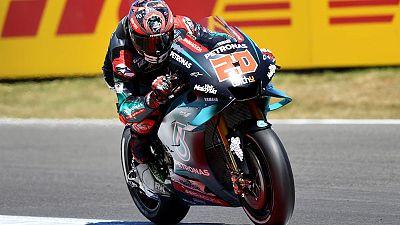 Quartararo on pole at Assen, Marquez fourth on the grid