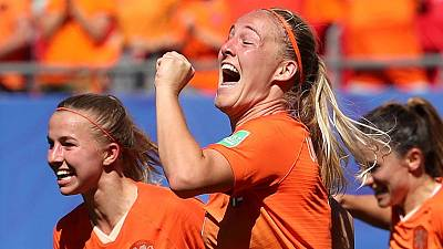 Dutch head into World Cup semis after 2-0 win over Italy