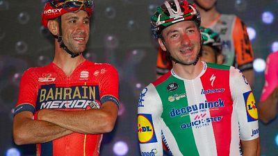 Ciclismo: sfida tricolore Nibali-Bettiol