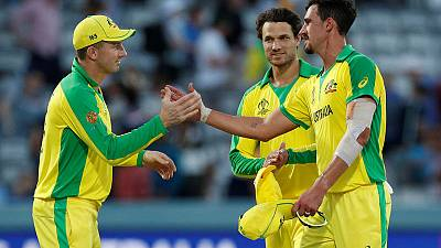 Starc five-for trumps Boult hat-trick as Australia beat New Zealand