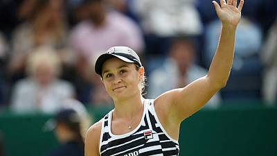 Tough draw? I've not looked at it, says Barty