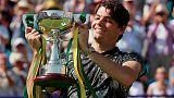 الأمريكي فريتز يحرز لقبه الأول في بطولات المحترفين بفوز في إيستبورن