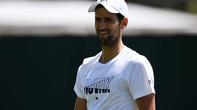 Djokovic prepares for Wimbledon with 'seven-hour' meeting