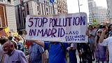 Protest in Madrid as conservatives suspend ban on most polluting cars