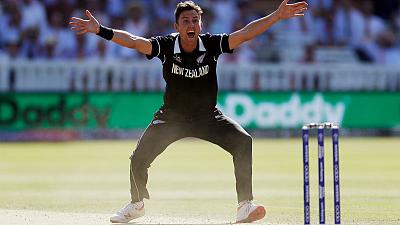 New Zealand's Boult bemoans timing of Lord's hat-trick