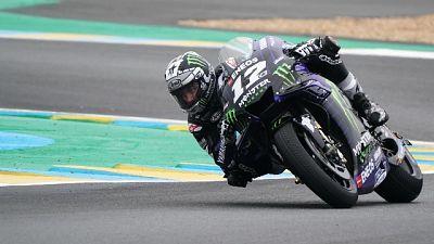 Moto: Vinales il più veloce nel warm up