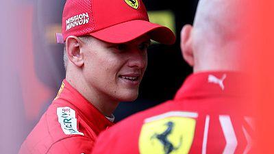 Mick Schumacher to drive father's title-winning Ferrari at German race