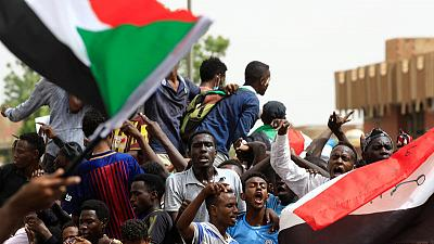 Tens of thousands demand civilian rule in Sudan, soldiers fire in air