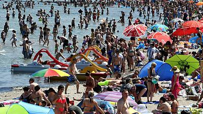 Hotter than Death Valley: Europe burns, sweats in record heat