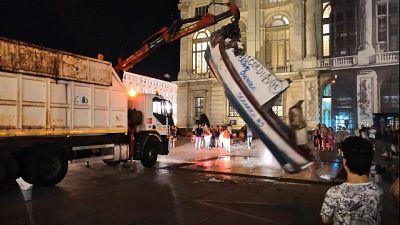SeaWatch,rimossa a Torino barca squatter