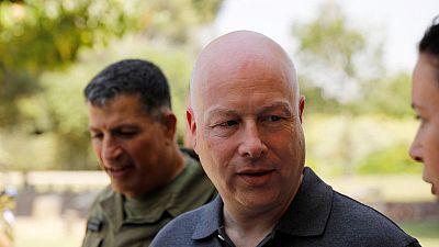 U.S. envoys on hand as Israel digs down in east Jerusalem