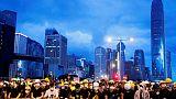 محتجون يقتحمون المجلس التشريعي في هونج كونج في ذكرى العودة للصين